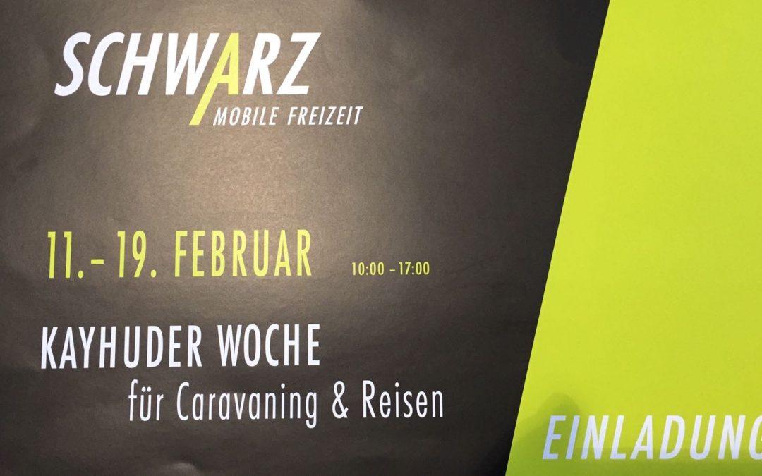 KAYHUDER Week from 11. – 19.02.2017 bei Schwarz Mobile Freizeit