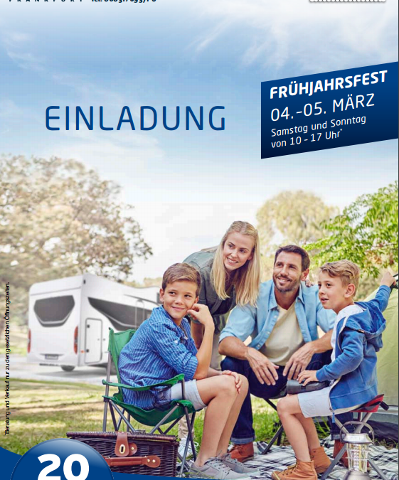 Early Spring Fest by Engel Caravaning Frankfurt from the 04th – 05th of March 2017