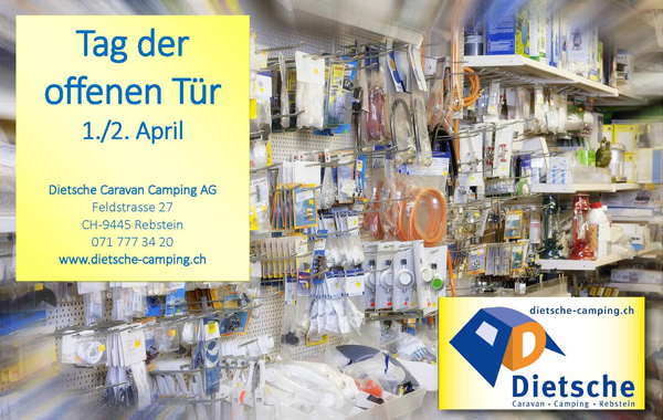 31.3-2.4.2017 HOUSE EXHIBITION DIETSCHE CARAVAN CAMPING AG – REBSTEIN
