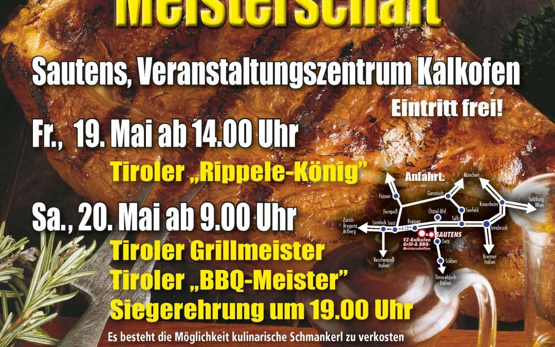 20.05.2017 2.Tiroler Grillmeisterschaft- Sautens AT