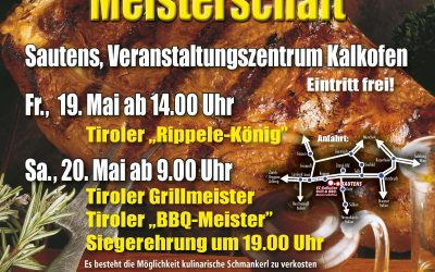 20.05.2017 2.Tiroler Grillmeisterschaft- Sautens AT