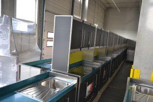 Produktion Miniküchen