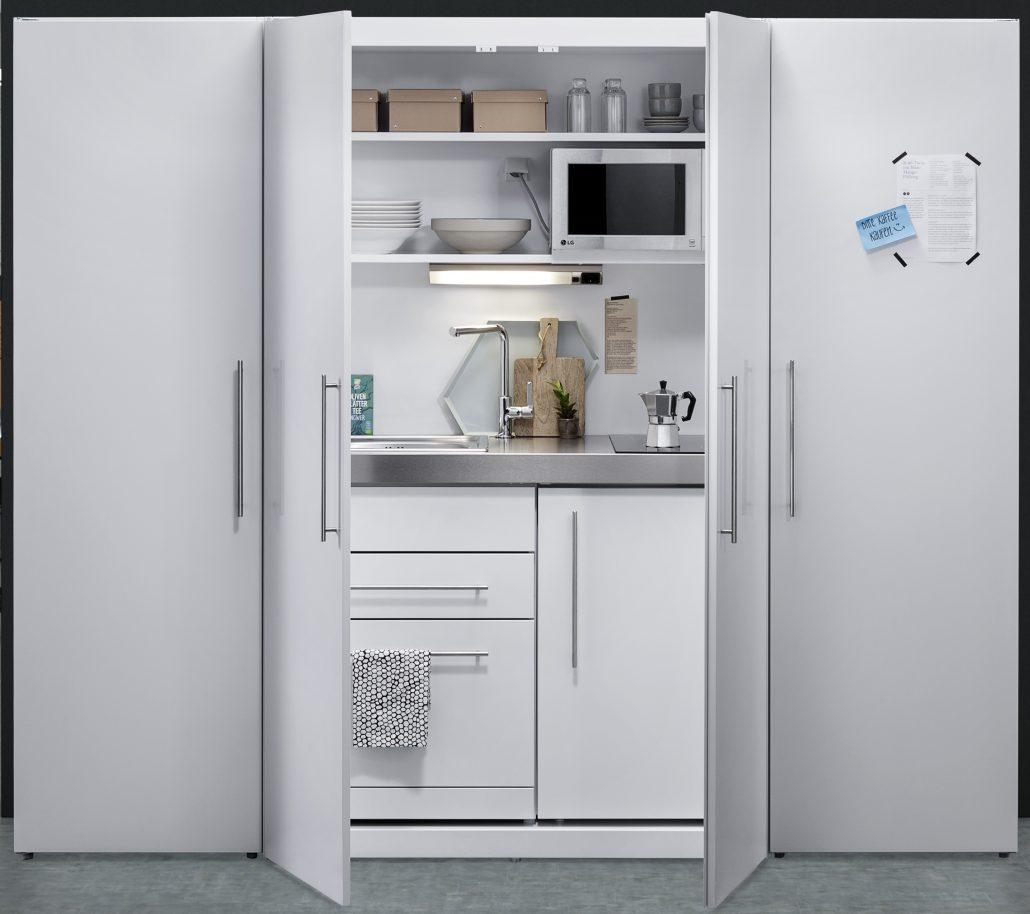 Neuheit 2017: Schrankküche aus Metall | Limatec-AG.ch