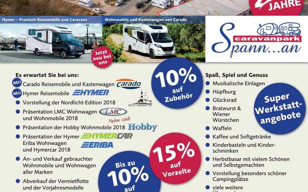 7-8.10.2017 Caravanpark Spann…an -autumn festival