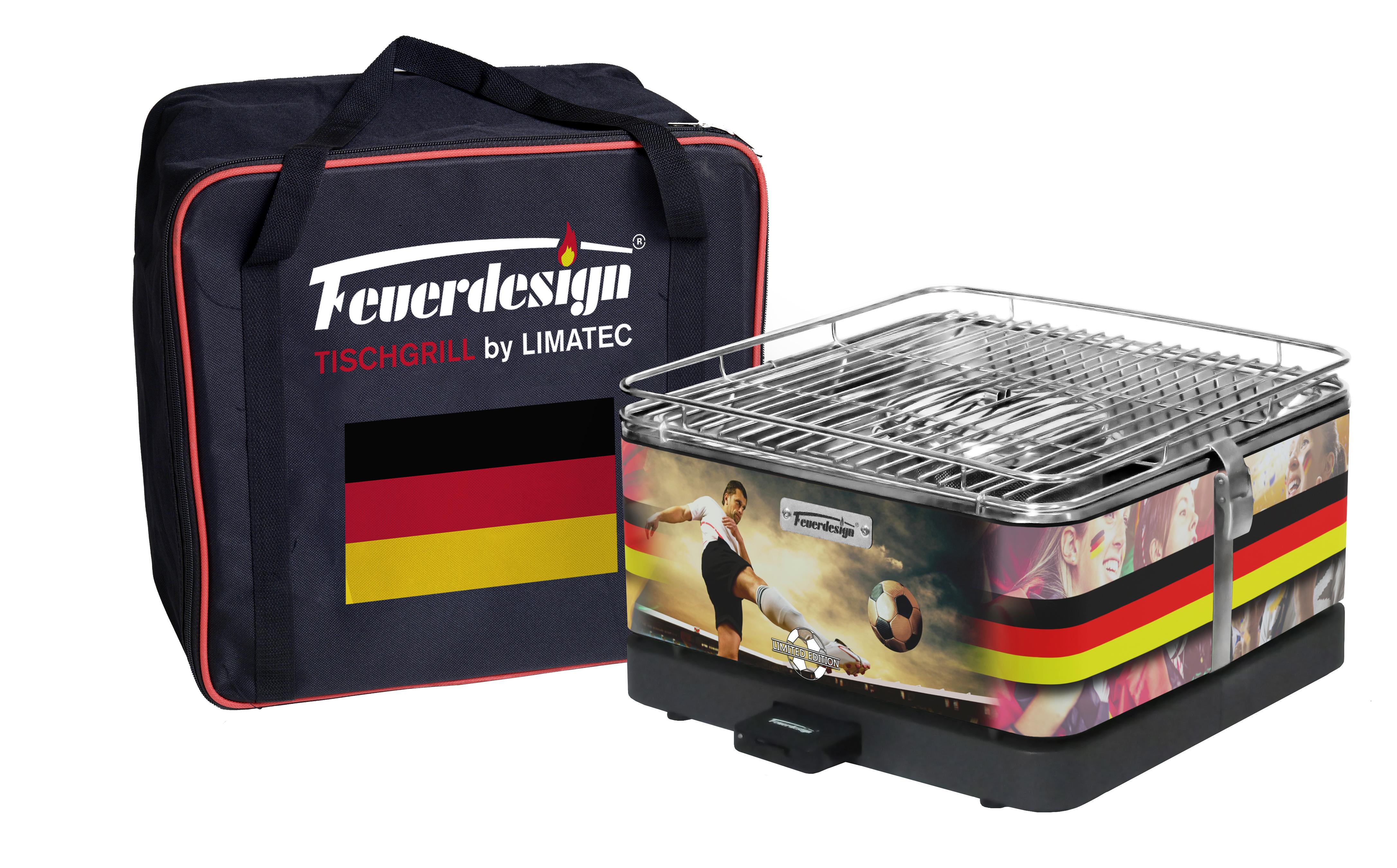 Deutschland Teide Fussball Grill