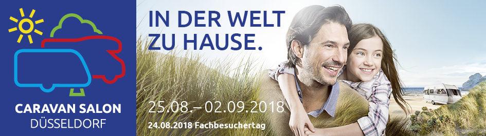 24.08-02.09.2018 CARAVAN SALON 2018 Düsseldorf