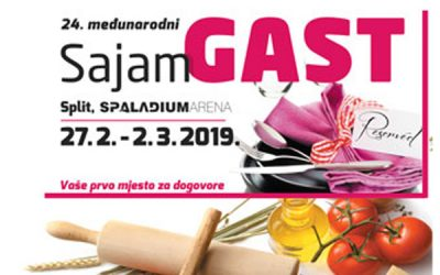 27.02.-02.03.2019 GASTFAIR IN SPLIT