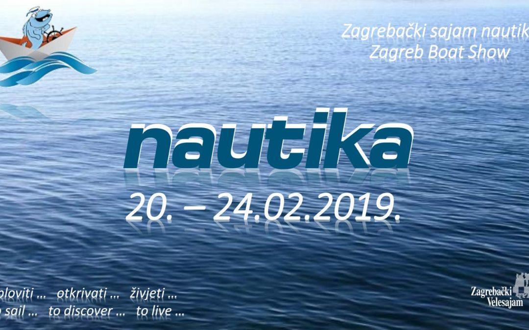 20.-24.02.2019 Nautika Boat Show Zagreb