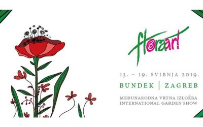 17.05.2019-19.05.2019 – FLORAART 2019 – INTERNATIONAL GARDEN EXHIBITION IN ZAGREB, CROATIA