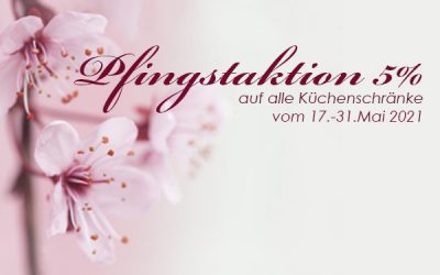 Shopaktion Miniküchen Pfingsten 2021