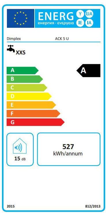 Water heater Dimplex ACK 5 U