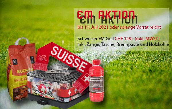 Feuerdesign Tischgrill EM Aktion in unserem Shop