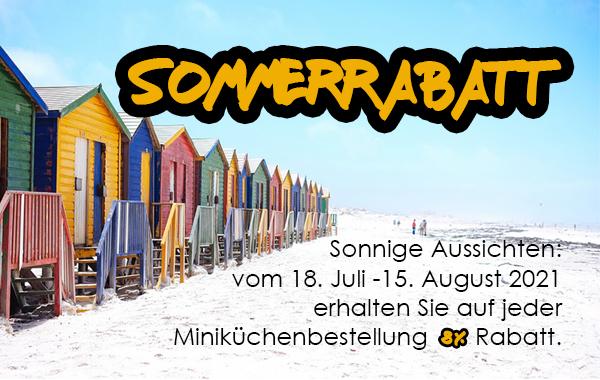 Shopaktion Miniküchen Sommer 2021
